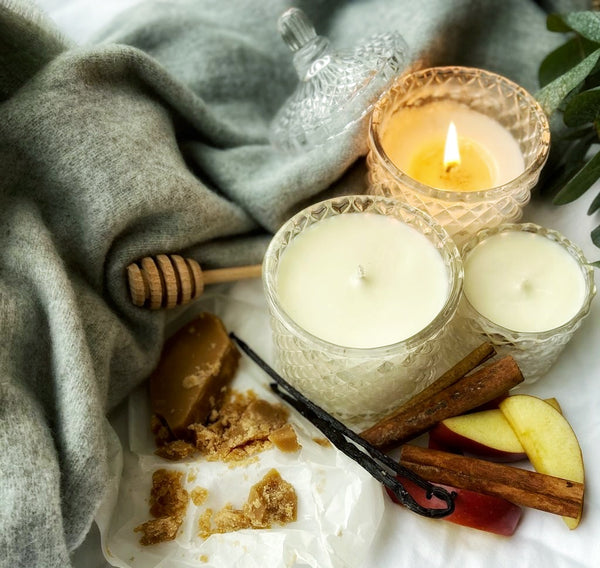 Autumn Edition Luxury Scented Soy Candle Making Kit - with Video Tutorial