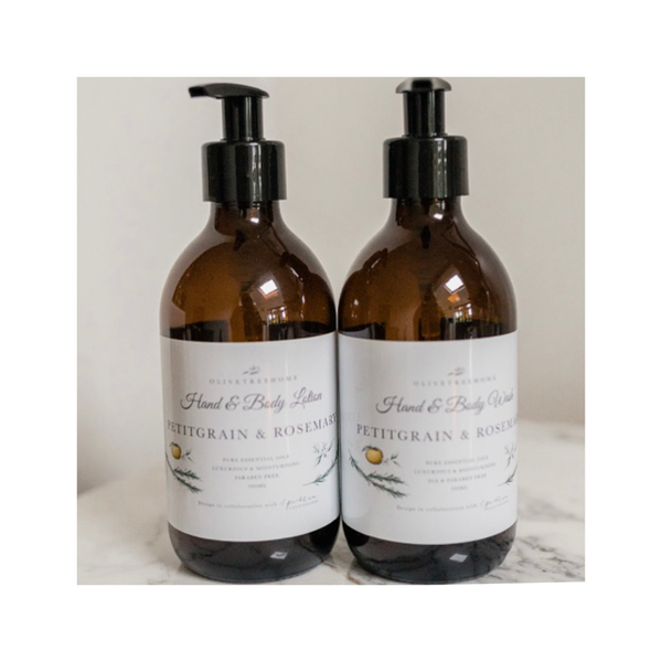 Petitgrain & Rosemary Hand & Body Wash - 300ml