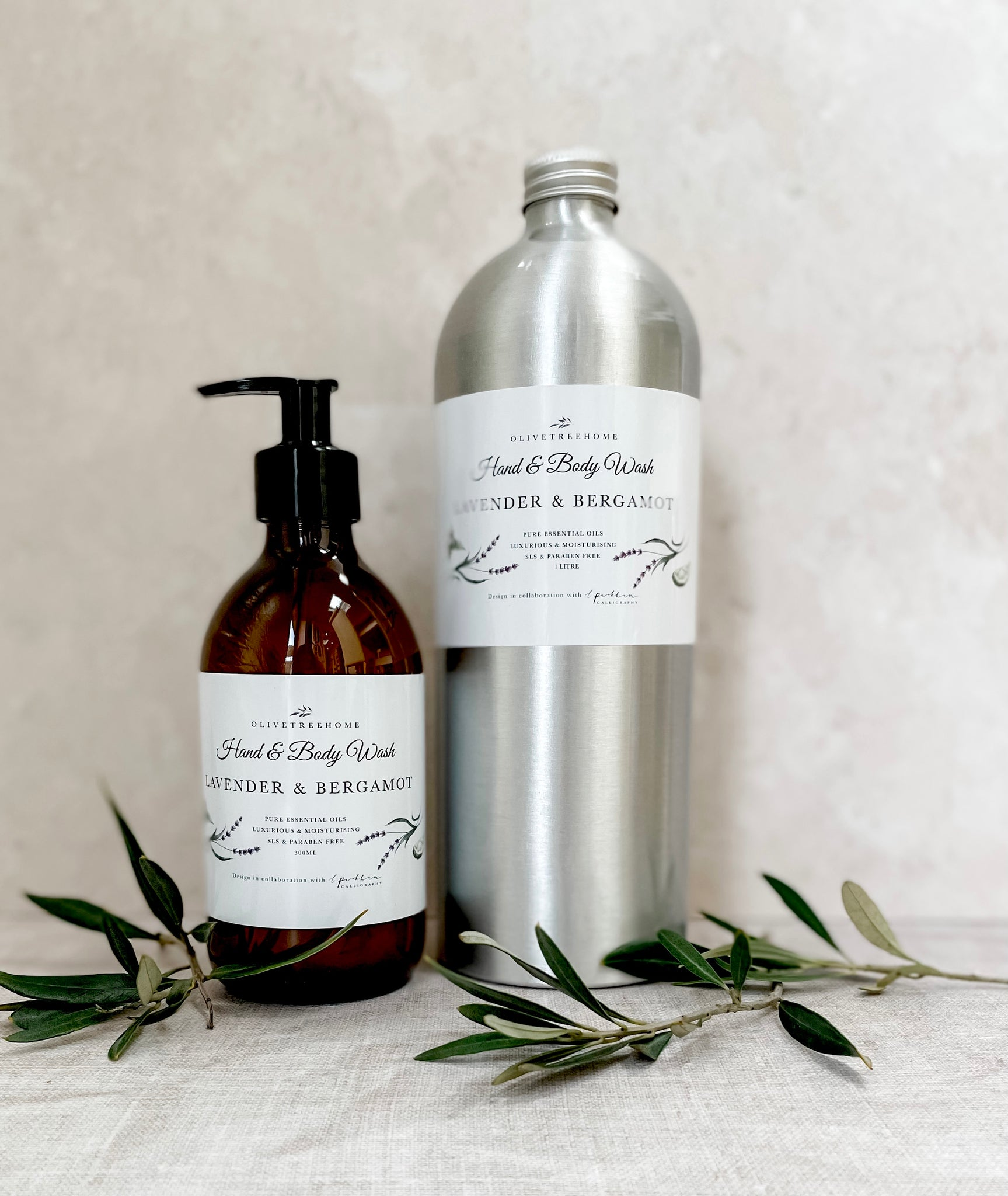 Essential Oil Hand and Body Wash Refill - 1litre