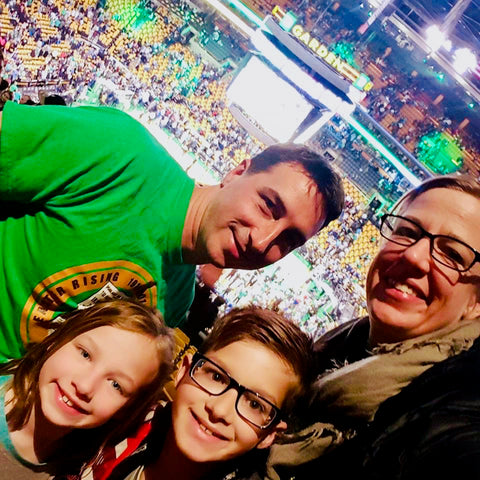 Ruanes at a Celtics Game