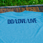 DO/LOVE/LIVE LOGO TEE