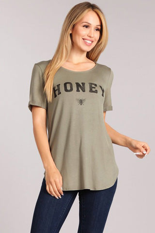 """honey"" tshirt"