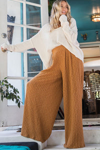 Camel lounge pants