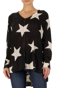 Long sleeve star top