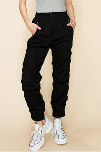Scrunched Jogger Pants