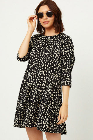 Dotted Swing Dress