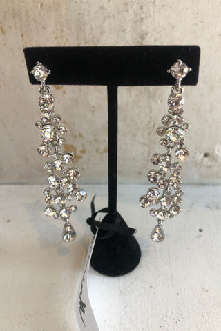 Cascading Crystal Earrings