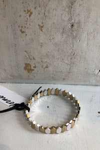 Gold & Silver Stretch Bracelet