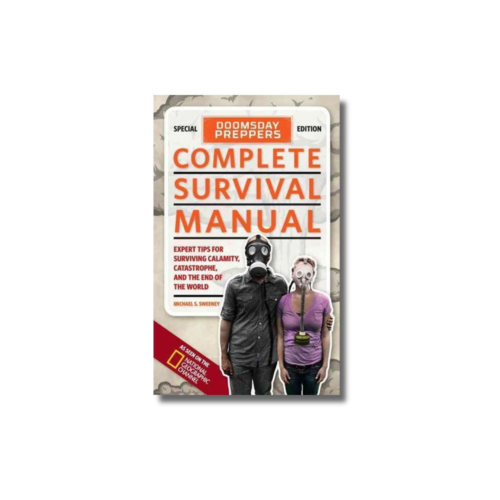 Complete Survival Manual, prepper, gas mask use