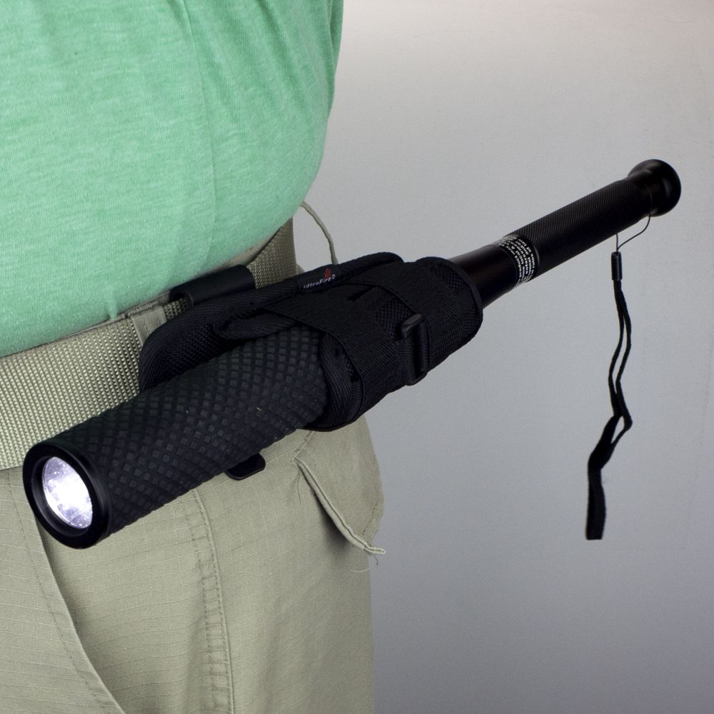 Flashlight Holster with Protec Bat