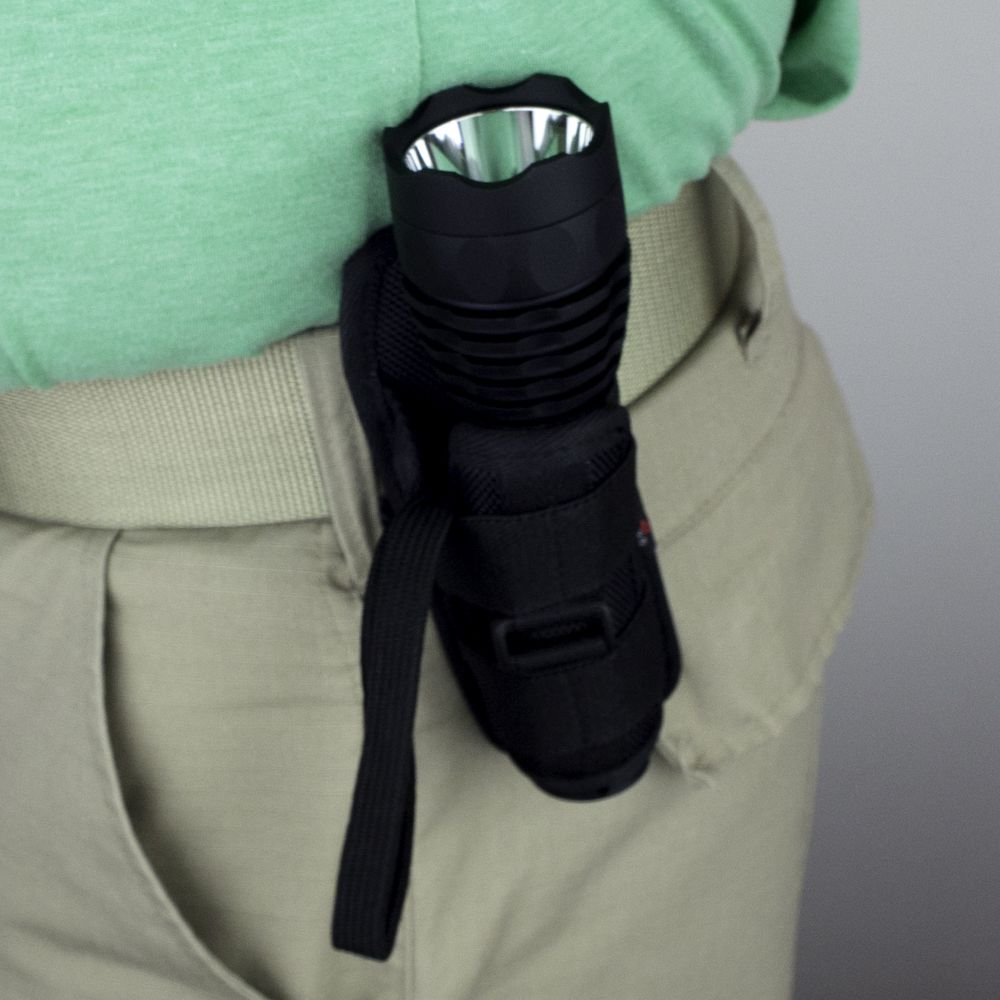 Flashlight Holster with SuperTac