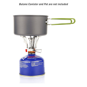 Gas Stove with pot and Canister