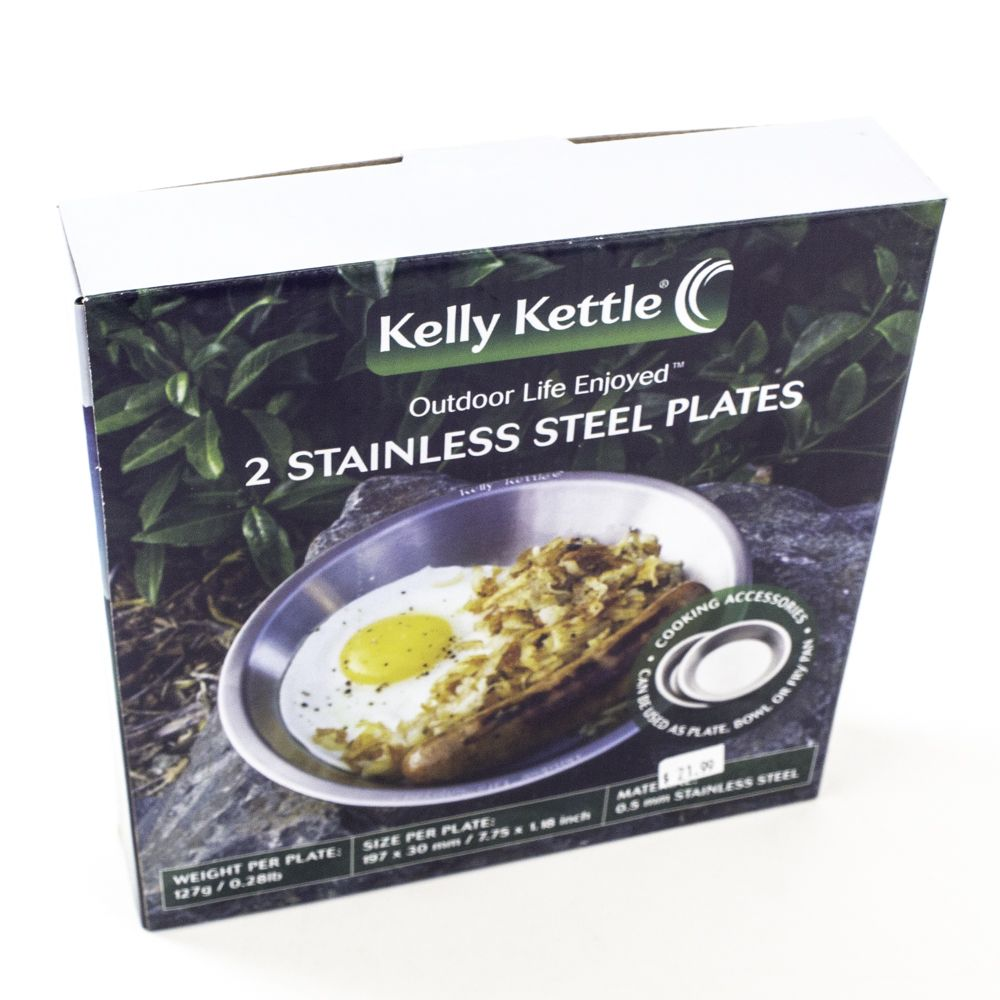 Kelly Kettle Stainless Steel Plates 01