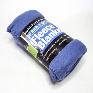 Blue Fleece Blanket 01
