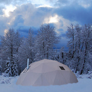 Shelter in snow 02