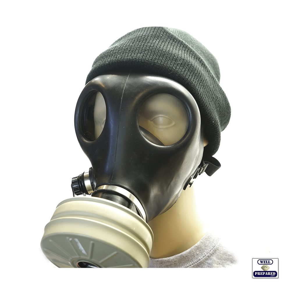 Civilian Gas Mask with Filter