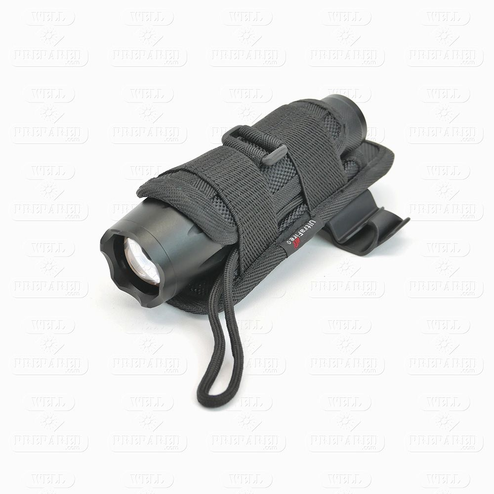 Tactical Flashlight in Holster