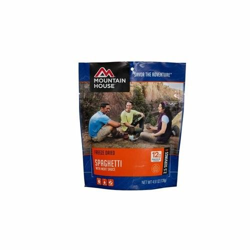 Mountain House Spaghetti with Meat Sauce [POUCH]
