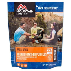Mountain House Chicken Breast with Rib Meat & Mashed Potatoes [POUCH]