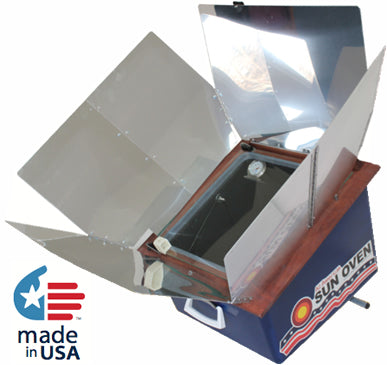 US Solar Oven Bundle with Free Body Heat Bag