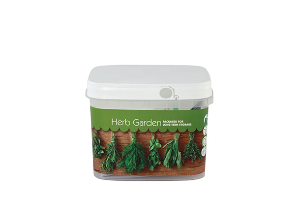 Herb Garden Bucket of Preparedness Seeds