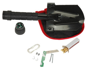Compact Multi-Function Survival Shovel