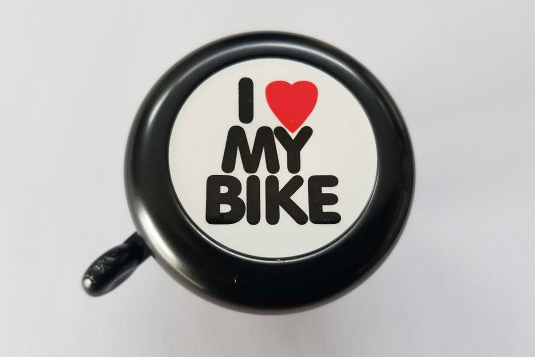 METAL BIKE BELL -I LOVE MY BIKE