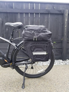 Hybrid Elite E-bike Rack, Pannier and Fender Kit