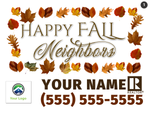Fall Lawn Signs