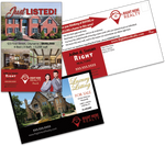 Right Here Realty Direct Mail Postcards