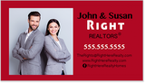 Right Here Realty Business Cards