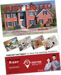 Right Here Realty Listing Flyers