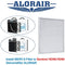 AlorAir - G3 Filter for Basement Dehumidifiers Sentinel HDi90/HD90 (Pack of 2)