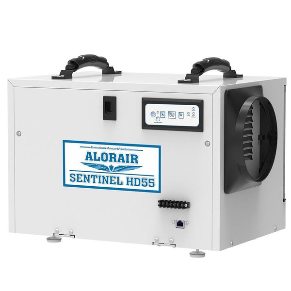 AlorAir - Sentinel HD55 Basement & Crawl Space Dehumidifier