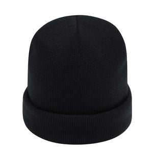 the black beanie