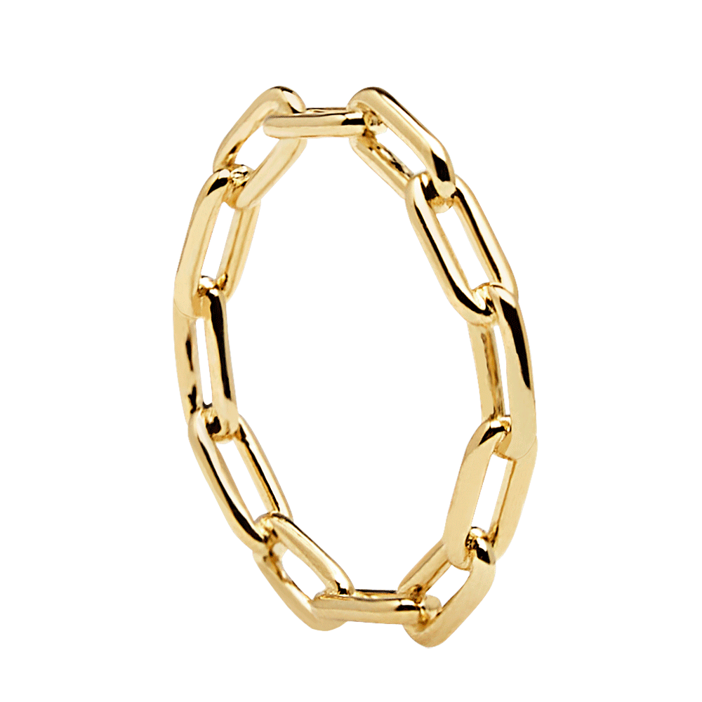 the chain ring - gold