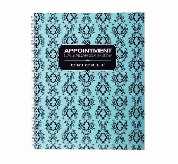 Cricket 4 Column Appointment Book 130pg