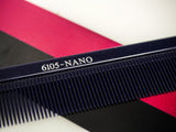 Nano Metal Tail Comb 6105