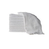 White Bleach Proof Towels  28cm x 45cm