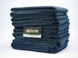 SSS Microfibre Black towels pack of 10