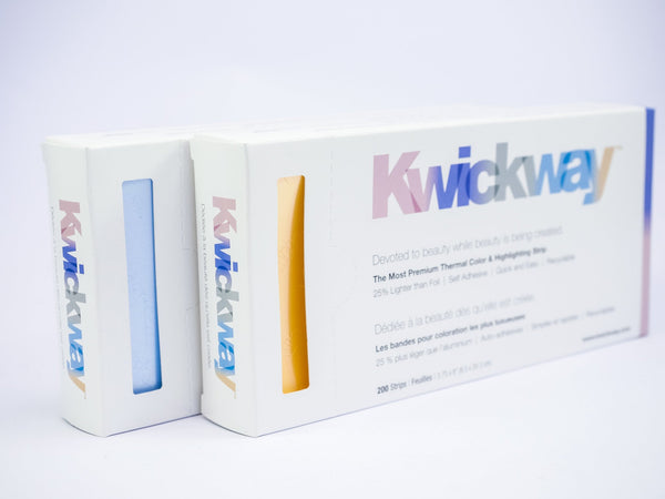 Kwickway Strips Gold 20cm  box of 200