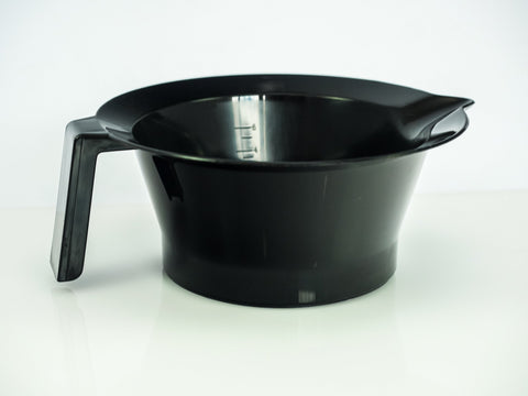 Tint Bowl Black/Brown With Handle 1202