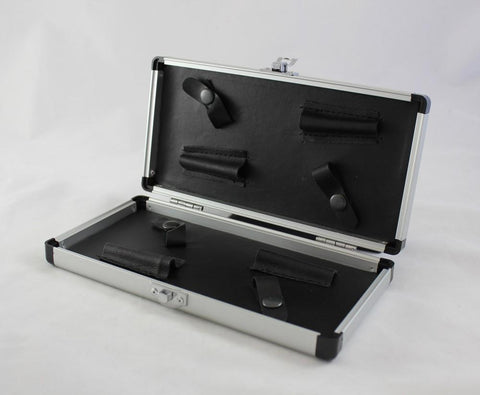 Scissor Case Black & Silver