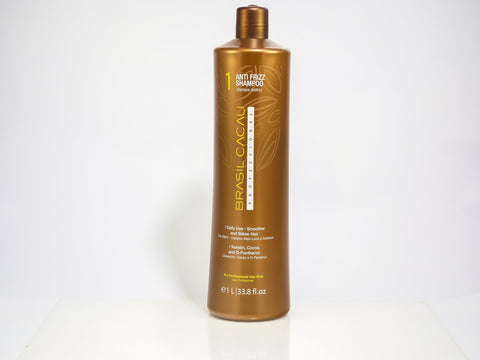 Brasil Cacau Keratin Anti Frizz Shampoo 980ml