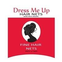 Hair Net 2 Pack Medium Brown