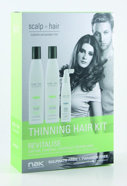 Nak Scalp Revitalise Thinning Kit With Mineral Defence 100ml