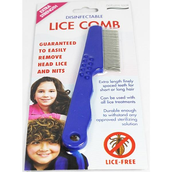 Disinfectable Lice Comb