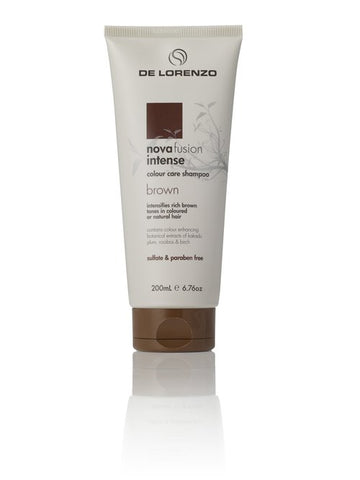 De Lorenzo Novafusion Shampoo Intense Brown 200ml