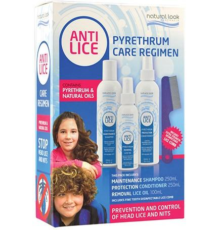 Pyrethrum Head Lice Care Kit