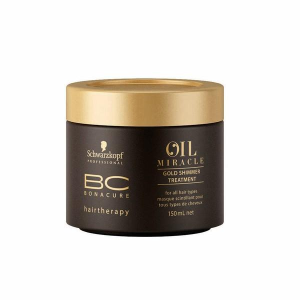 Schwarzkopf Professional BC Miracle Oil Gold Shimmer Treatment 150ml *